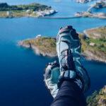 hochwerige outdoor schuhe zum trekken, wandern und klettern