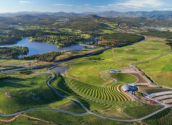 das Arboretum in Canberra ist ein traumhafter Ort mit interessanten Ausstellungen und Pflanzarten aus der ganzen Welt