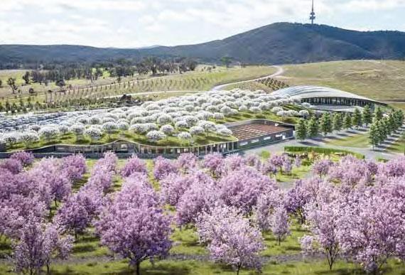 außer dem Ruf als kulinarisches Reiseziel bietet Canberra auch viele atemberaubende Gärten und Sehenswürdigkeiten zum Entdecken