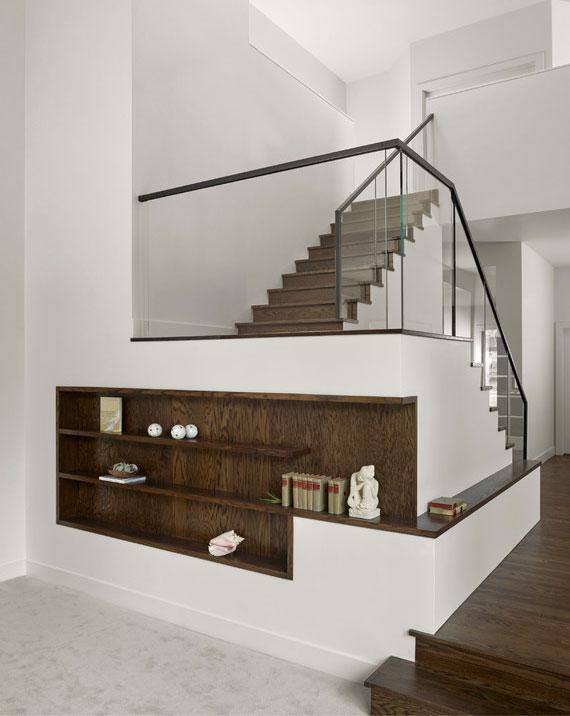 als Gestaltungselement der Architektur und Innenausstattung spiegelt eine Treppe den Lebensstil und die Individualität der Bewohner wieder