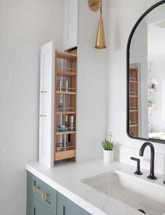 Möbel Lösungen für ein praktisch und gut organisiertes Badezimmer