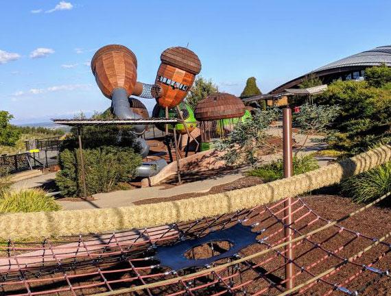 reiseziel National Arboretum in Australien_ein großartiger park mit verschiedenen Aktivitäten für Familien