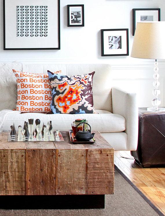 wohnzimmer gemütlich gestalten durch unerwartete Kombinationen_ mit einem mix macht's bekommt das eigene Wohnzimmer ein einzigartiges Flair