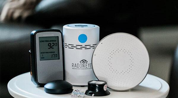 Radonkonzentration im Haus: Messung und Schutz