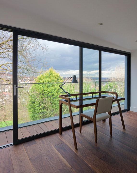 Hebe-Schiebe-Balkontüren überzeugen durch eine hervorragende Wärmedämmung