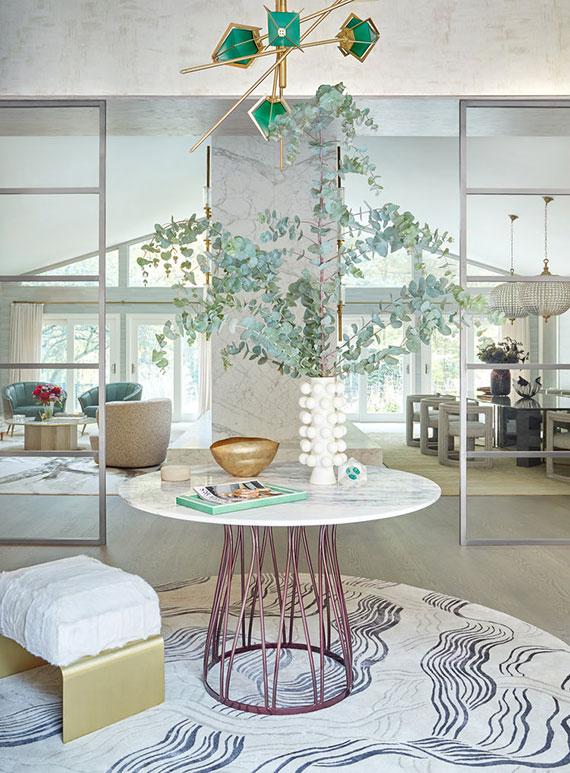 teppiche in Rundform liegen total im Trend und sind besonders geeignet für kleine Räume oder zum Definieren einer Sitzecke in Räumen mit offenem Grundriss