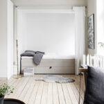 separaten schlafbereich ein einem einraumwohnung einrichten