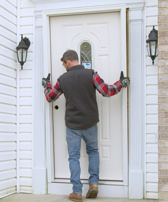 die Wahl passender Haustür und das korrekte Einbauen sind wichtige Faktoren für die Sicherheit