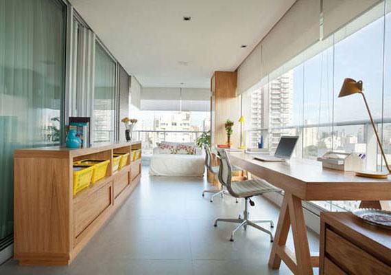 die terrasse als Arbeitsplatz und Ort der Entspannung