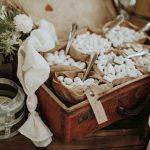 ideen für originelle Verpackung und einfache Zubereitung von Mandel-Geschenke für Ihre Hochzeit