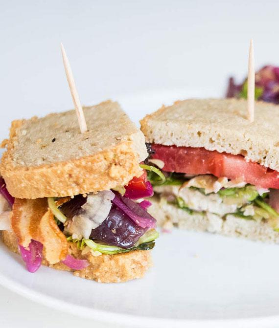 Rezept für Low Carb BLT Sandwich-Klassiker aus den USA