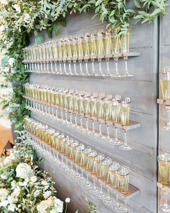 geniale idee für plazzuweisung mit einem Welcome-Drink
