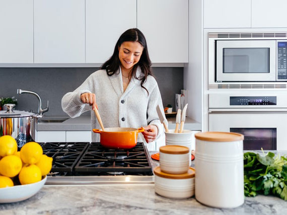 mit Lebensmitteln in Bio-Qualität nachhaltig kochen