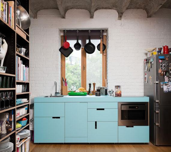 schönes Miniküche-Design für moderne und praktische Kücheneirichtung mit Wow Effekt